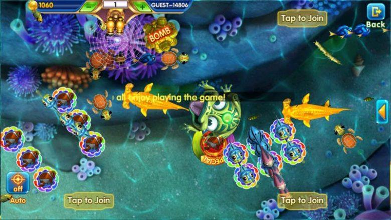 Permainan Game tembak Ikan