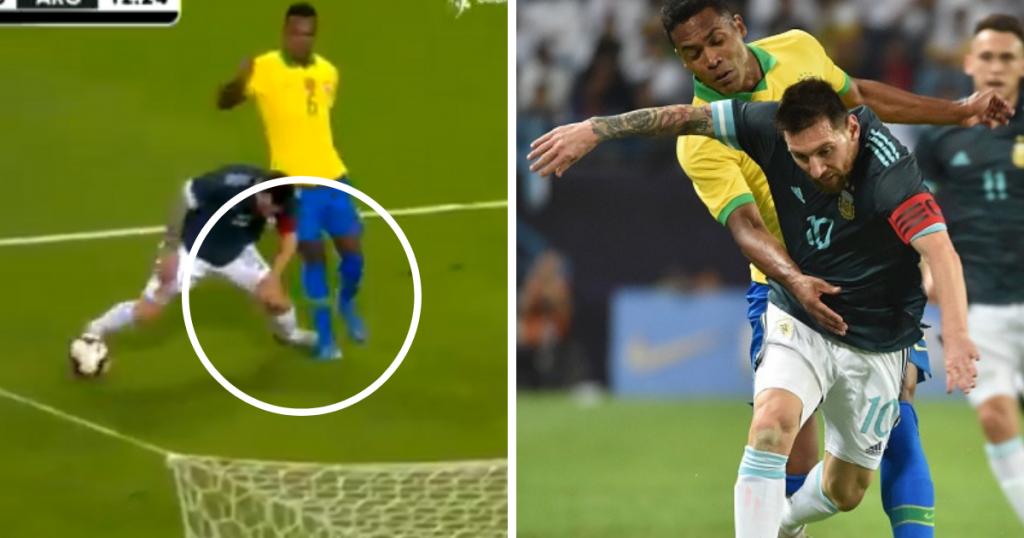 Komentar Messi ke Pelatih Brasil, Sssttt... Diam Kamu