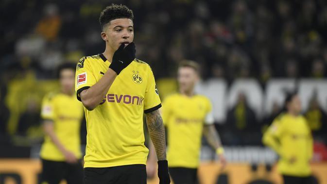 Dortmund Menegaskan Jadon Sancho Tidak Untuk Dijual
