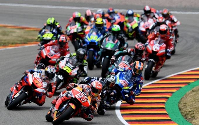 MotoGP di gelar dengan di dampingi kru Covid-19