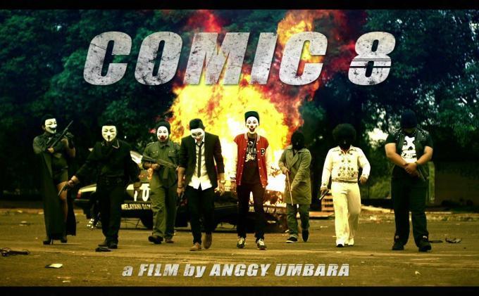 Film Comic 8 tayang di TV