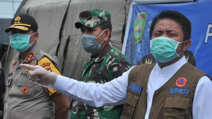 Pemerintah Kota Terapkan PSBB Palembang