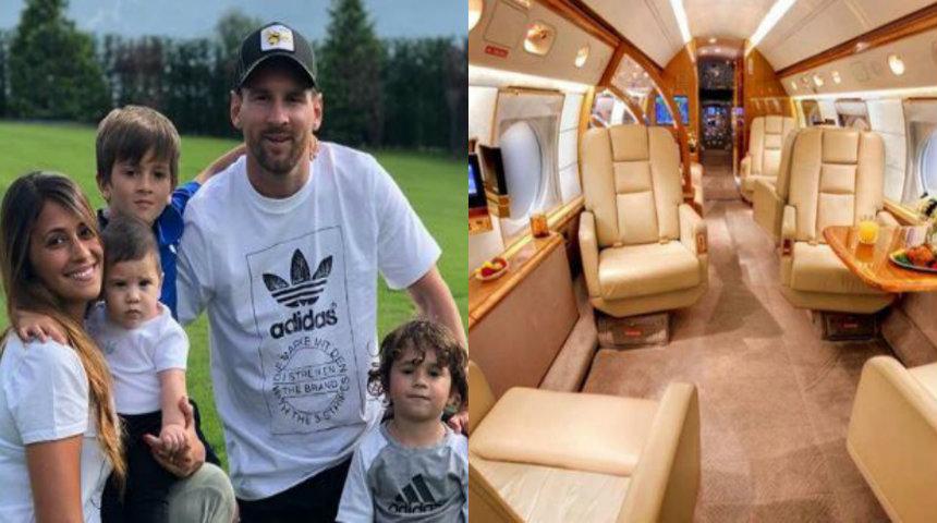 Jet Pribadi Lionel Messi