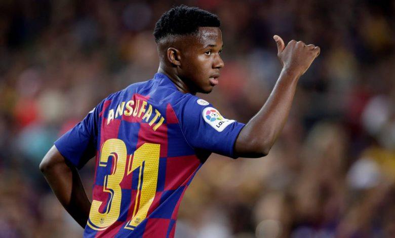 Ansu Fati tak Bakal Hengkang ke Manchester United