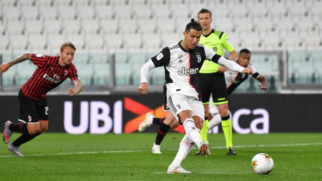 Hasil Pertandingan Juventus vs AC Milan Tadi Malam