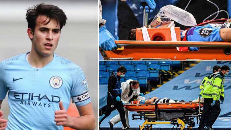 Man City vs Arsenal, Eric Garcia Cedera Parah