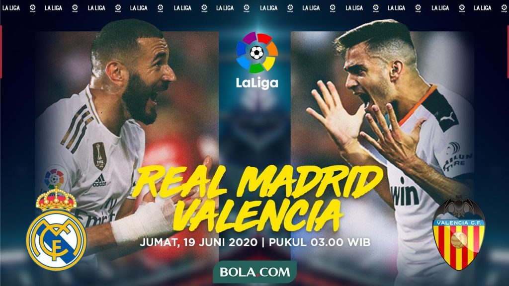 Pertandingan Real Madrid vs Valencia