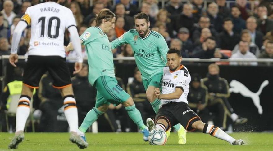Pertandingan malam ini, Madrid vs Valencia