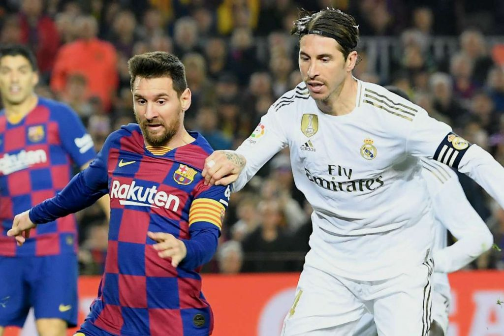 Real Madrid Mengejar Poin Barcelona di LaLiga