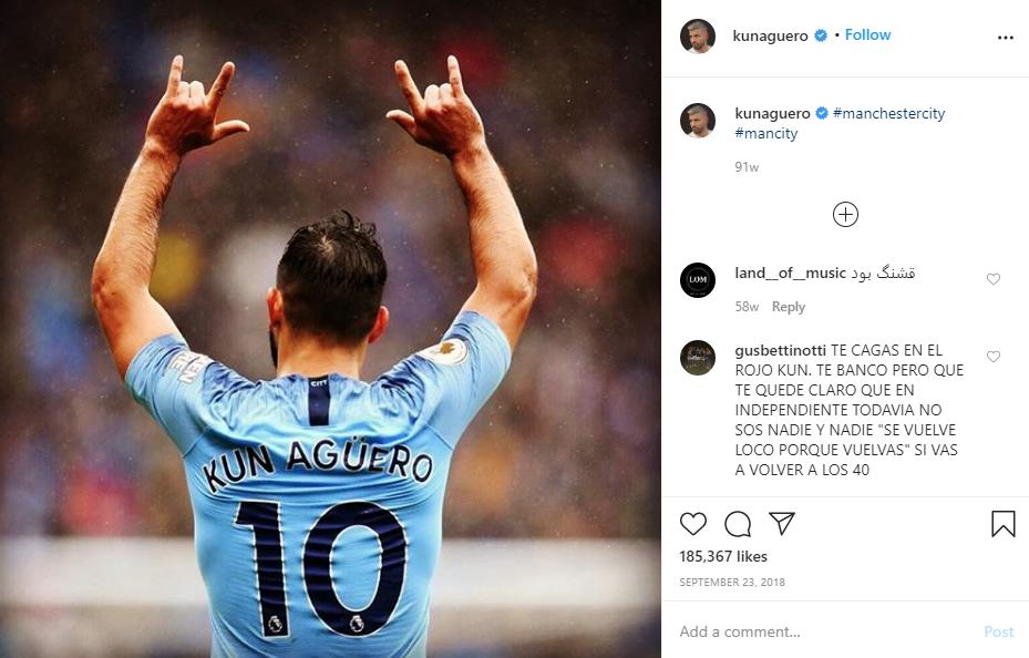 Sergio Aguero Terancam Absen Hingga Akhir Musim