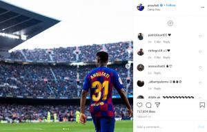 Ansu Fati tak Bakal Hengkang ke Manchester United 1