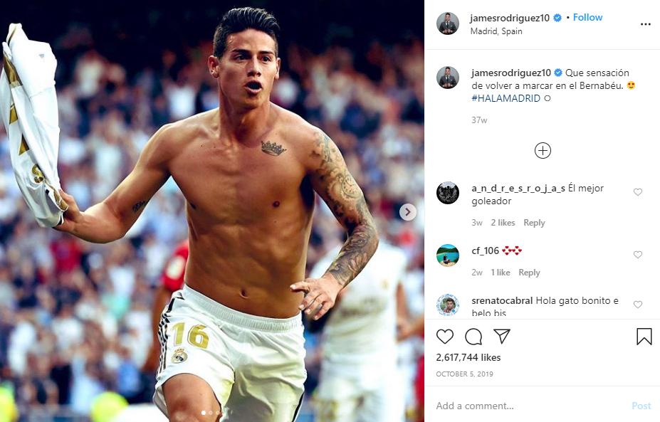 James Rodriguez Jarang Dimainkan Musim Ini