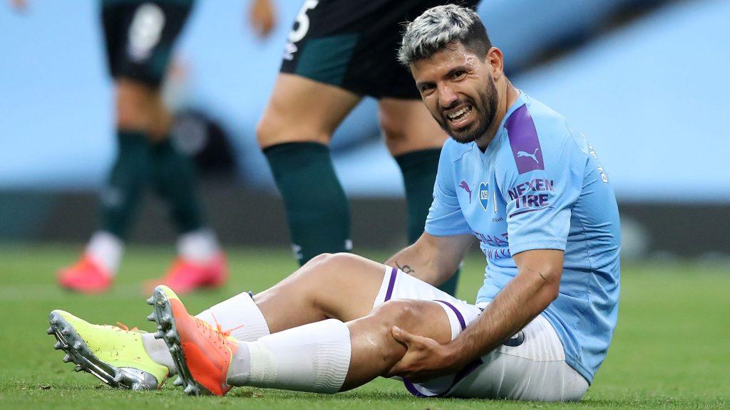 Sergio Aguero Menjalani Pemeriksaan Lutut