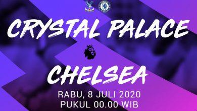 Photo of Crystal Palace vs Chelsea Tadi Malam