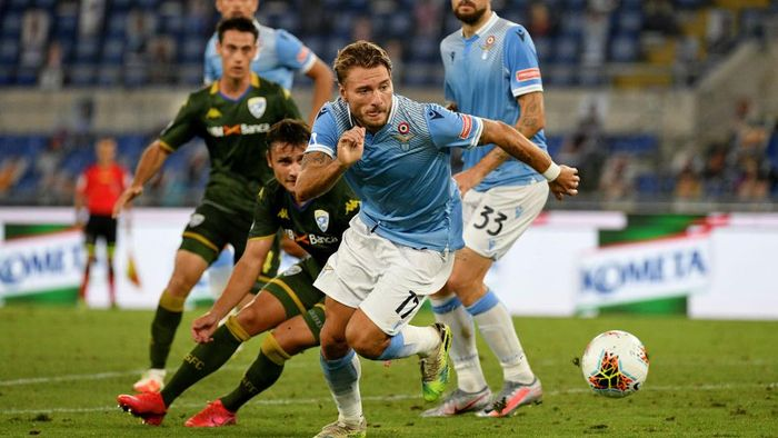 Jalannya Pertandingan Lazio vs Brescia