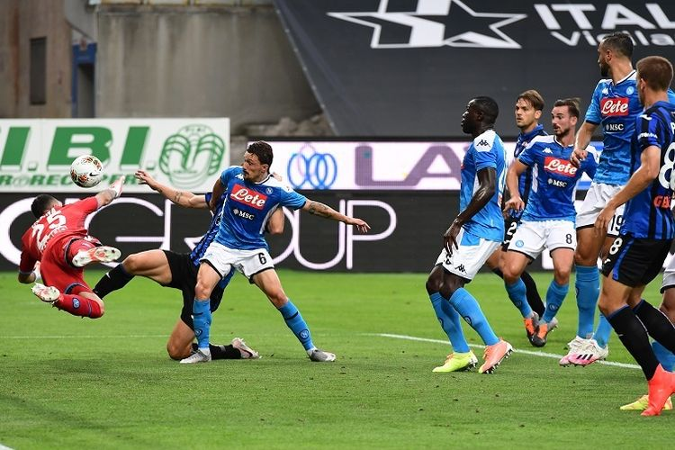 Jalannya Pertandingan Napoli vs Udinese