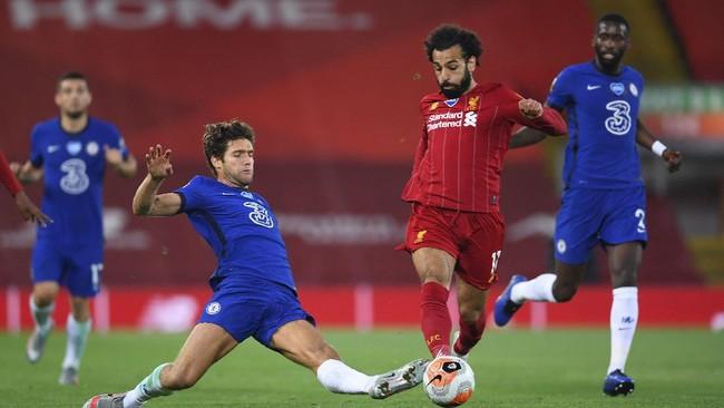 Pertandingan yang sangat seru antara Liverpool vs Chelsea
