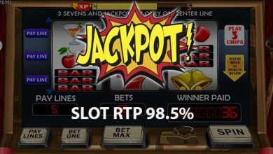 Photo of 7 Game Slot Online dengan RTP Tinggi 2020