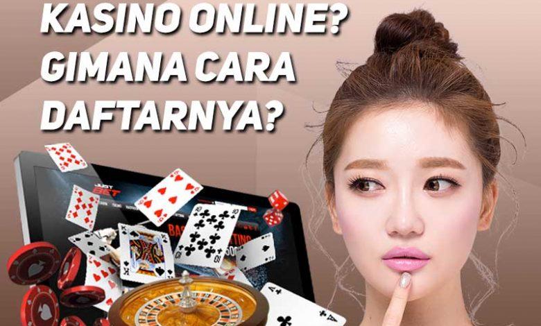 cara daftar kasino online
